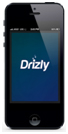 iPhone Drizly app for alcohol delivery