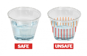 straws and cups to detect date rape drugs
